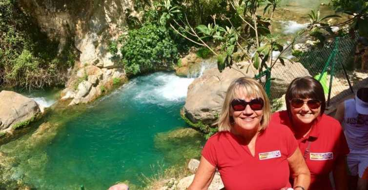 From Benidorm: Algar Waterfalls and El Castell de Guadalest