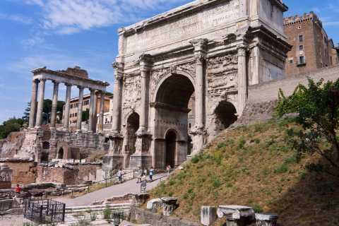Colosseum, Roman Forum & Palatine Hill Walking, Guided Tour