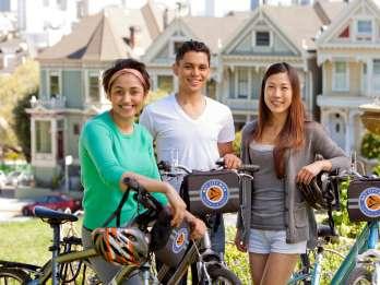 Straßen von San Francisco: Tour mit dem E-Bike