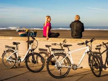 San Francisco: Radtour bei Sonnenuntergang