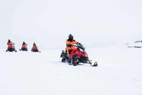 Glacier Snowmobiling on Langjokull Glacier