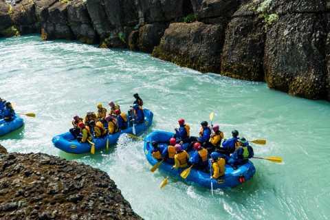 From Reykjavik: Golden Circle & Rafting Adventure