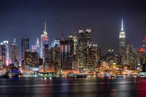 New York City: Skyline på Night Tour