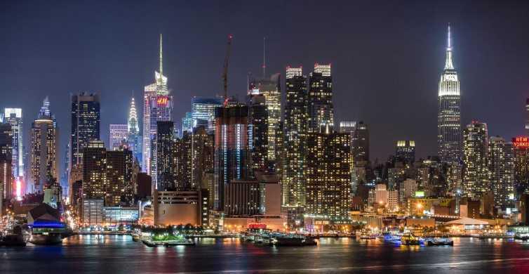 Nowy Jork: Nocna panorama miasta
