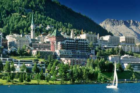 Lake Como, St. Moritz and Bernina Express Day Trip