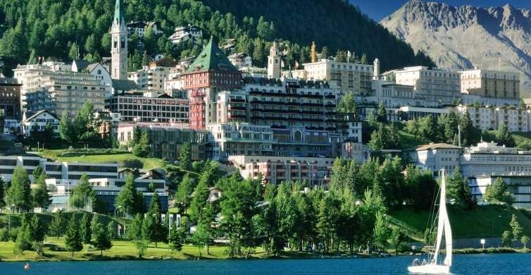 Jezioro Como, St. Moritz i Bernina Express w 1 dzień