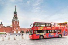 Moscou: Ônibus Hop-On Hop-Off e Opções de Barco