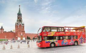 Moscow: Hop-On Hop-Off Bus Tour and Boat Options