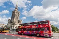 Varsóvia: Circuito de Ônibus Hop-On Hop-Off