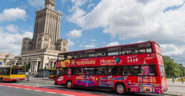 Autobús turístico de paradas libres en Varsovia