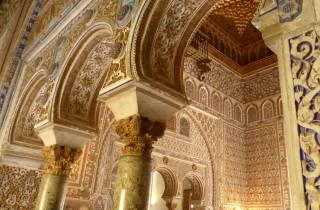 Alcázar von Sevilla: 1,5-stündige Kleingruppen-Tour