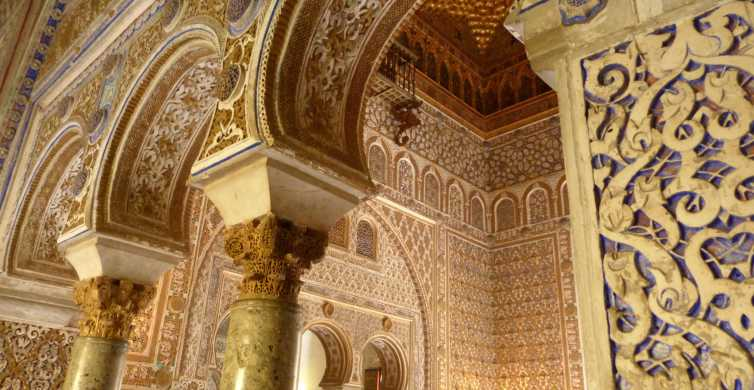 Alcázar of Seville 1.5-Hour Small Group Tour
