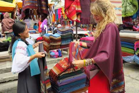 Otavalo: Small Group Market Tour from Quito with Lunch