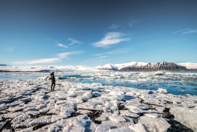 Vanaf Reykjavik: Dagtour Gletsjerlagune Jökulsárlón