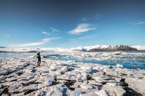 Heldagstur till issjön Jökulsárlón från Reykjavik