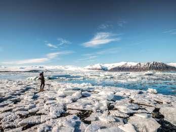 Ab Reykjavík: Tagestour zur Gletscherlagune Jökulsárlón