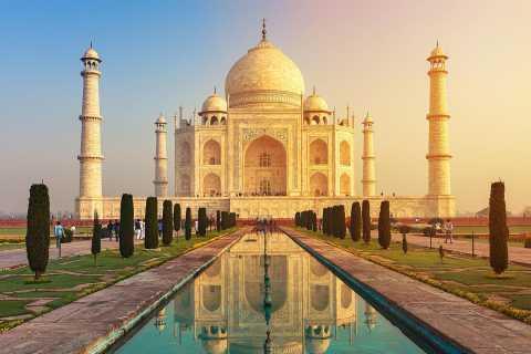 Tour privato di Taj Mahal e Agra Local Heritage Day