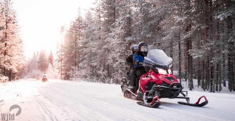 Rovaniemi: Easy Snowmobile Safari
