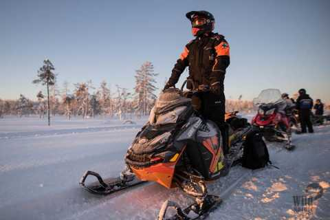 Rovaniemi: Snowmobile Safari to the Wilderness with Lunch