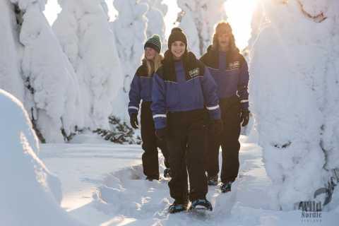 Rovaniemi: Snowshoeing in the Arctic Circle Wilderness