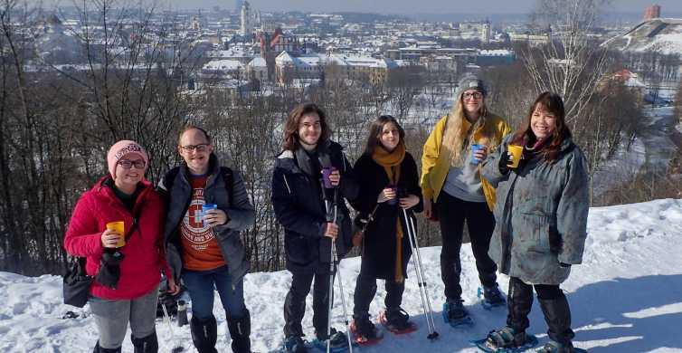 Vilnius Panoramic Hills Snowshoe Tour