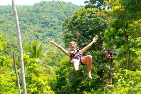 Samui Island: Sky Fox Cable Ride in the Jungle
