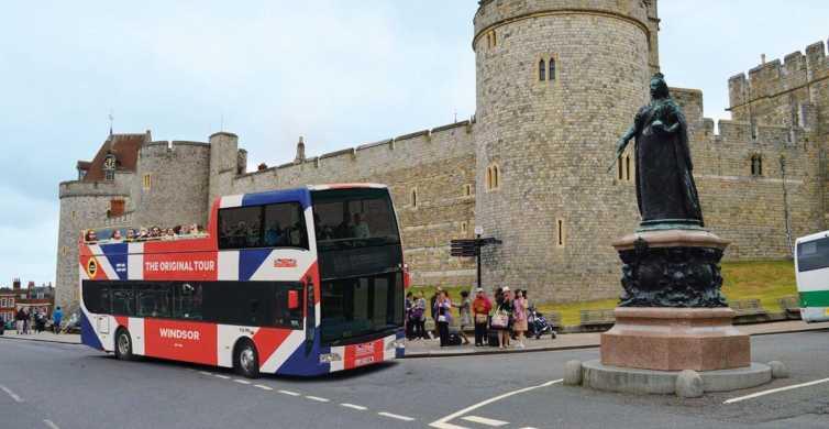 The Original Windsor Hop-on Hop-off Sightseeing Bus Tour