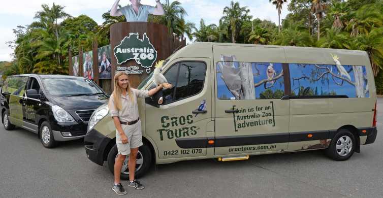 Fra Brisbane: Transport og adgang til Australia Zoo
