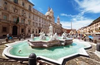 Rom: Untergrund Piazza Navona, Pantheon und Trevi-Brunnen