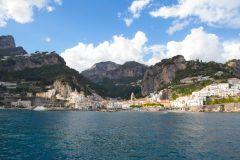 Passeio de Barco pela Costa Amalfitana saindo de Sorrento