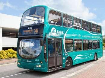 Dublin: Flughafen Express-Airlink Bus-Transfer