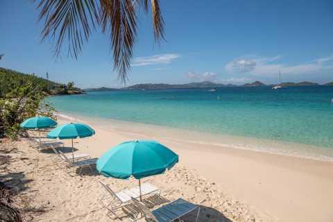 St. John: Shuttle, Beach and Snorkel at Honeymoon Beach