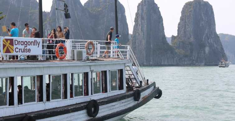 Halong Day Tour: Islands, Caves, Kayak with Dragonfly Cruise