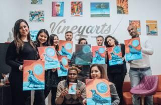 Rom: Nachmittagsmalerei und Schluckerfahrung