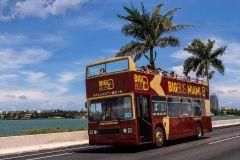 Miami: Ônibus Hop-On Hop-Off Big Bus c/ Vistas Panorâmicas