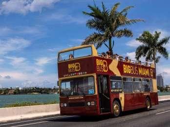 Miami: Bus mit offenem Deck, Hop-On/Hop-Off Stadtrundfahrt