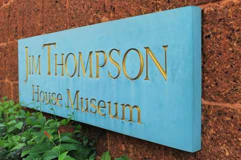 Bangkok: Maison Jim Thompson et visite de la communauté de Baan Krua