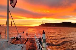 San Francisco: Sonnenuntergangs-Kreuzfahrt durch Kalifornien