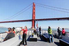 São Francisco: Passeio de Barco de Ponte a Ponte