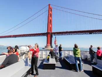 San Francisco: Bootsfahrt von Brücke zu Brücke