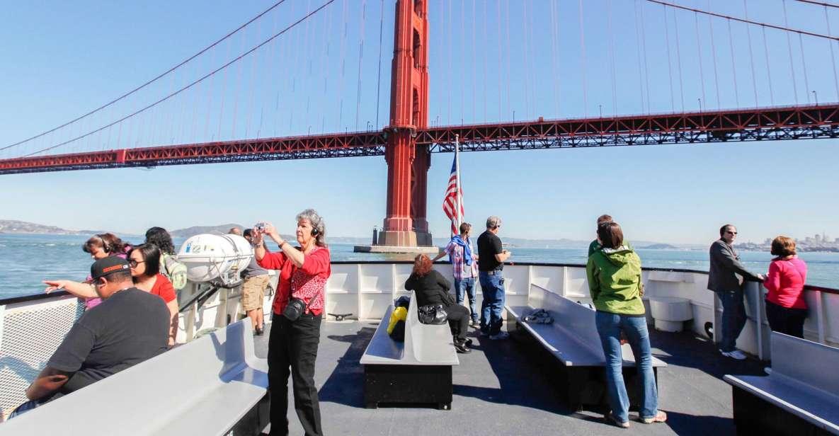 San Francisco: Bridge to Bridge Cruise