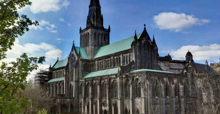 Vanuit Edinburgh: Glasgow, Lakes & Doune Castle Spanish Tour