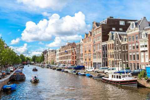 Amsterdam: Small Open Canal Boat Cruise