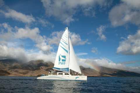 Maui: Honolua Bay Snorkel and Sail from Lahaina Harbor