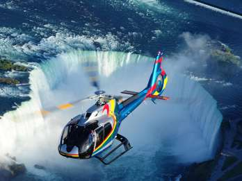 Niagara Falls, Kanada: Panorama-Helikopterflug