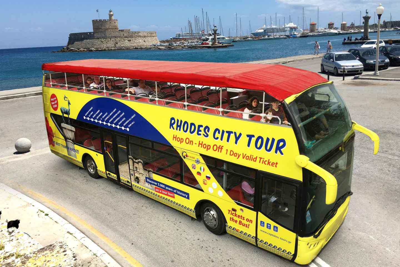 Rhodos: Hop-On/Hop-Off-Bustour durch die Stadt