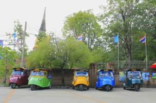 Ab Bangkok: Tempel von Ayutthaya - Tuk-Tuk-Tour am Abend