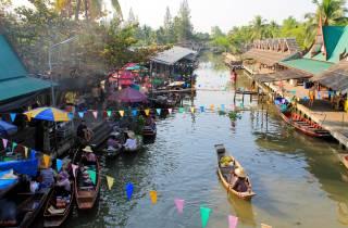 Bangkok: Private Tour zum Schwimmenden Markt Thaka