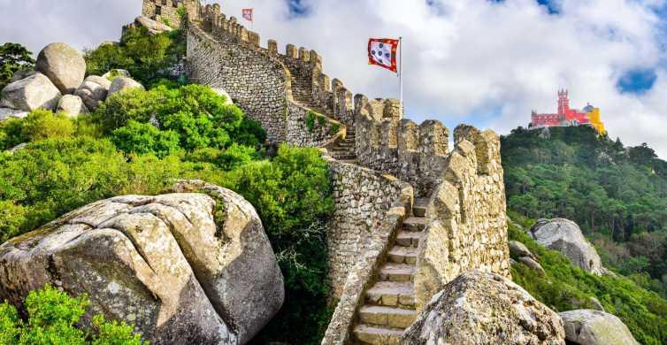 Sintra: kasteel van de Moren, ticket zonder wachtrij