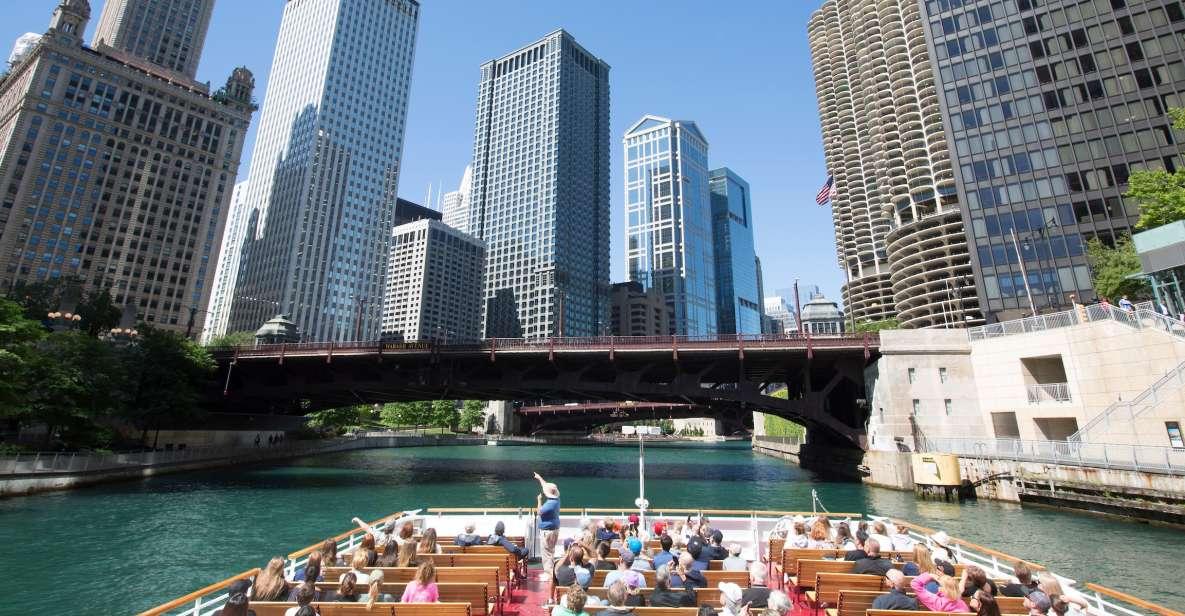 Chicago River: Architektur-Bootsfahrt - Vorzugsticket